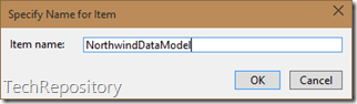 Name for Data Model