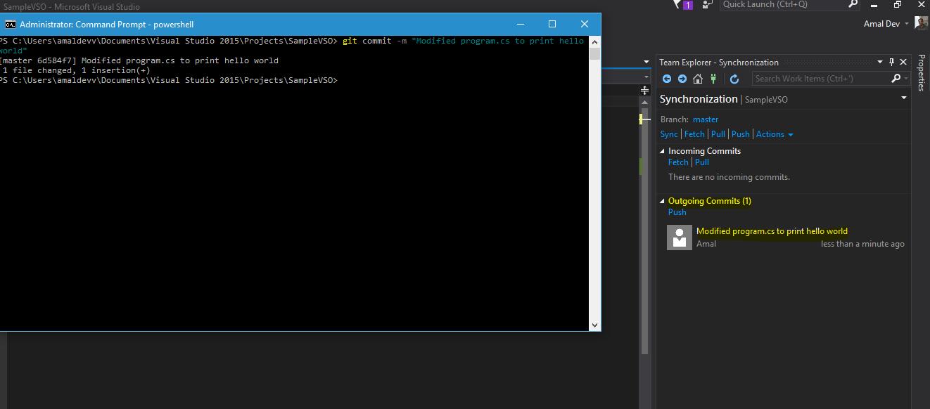 Tech Repository - Visual Studio Team Services : Triggering Build