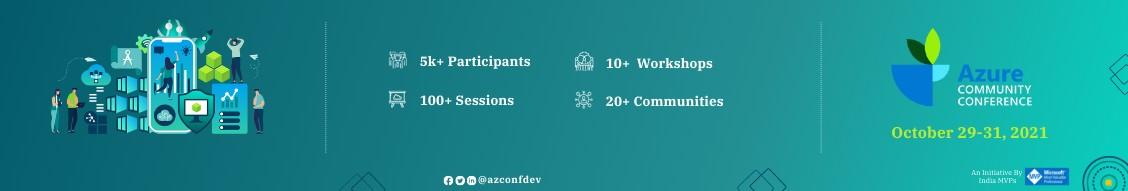 Azure Community Conference 2021 - Register Now