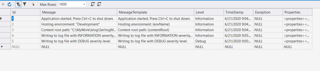 Multiple Log Files in Serilog