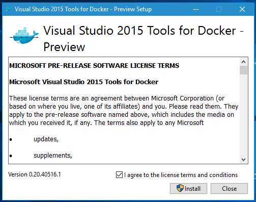 Publish a Web App Into Docker Container From Visual Studio