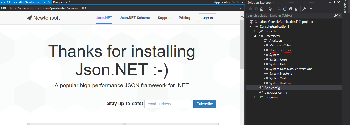 Json NET - Tech Repository